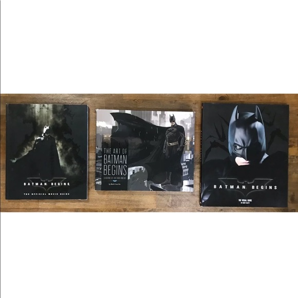 Batman Begins Bundle Of 3 Books
